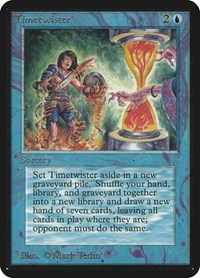 Timetwister, Magic: The Gathering, Alpha Edition