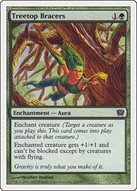 Treetop Bracers, Magic: The Gathering, 9th Edition