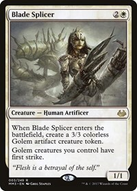 Blade Splicer, Magic: The Gathering, Modern Masters 2017