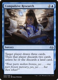 Compulsive Research, Magic: The Gathering, Modern Masters 2017