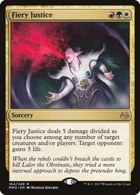 Fiery Justice, Magic: The Gathering, Modern Masters 2017