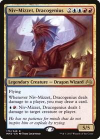 Niv-Mizzet, Dracogenius, Magic, Modern Masters 2017