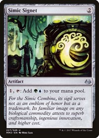 Simic Signet, Magic, Modern Masters 2017