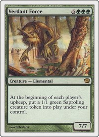 Verdant Force, Magic: The Gathering, 9th Edition