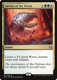 Advent of the Wurm, Magic: The Gathering, Modern Masters 2017