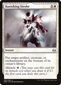 Banishing Stroke, Magic: The Gathering, Modern Masters 2017