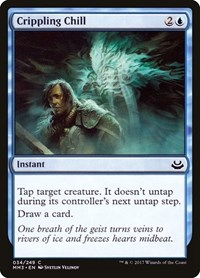 Crippling Chill, Magic: The Gathering, Modern Masters 2017