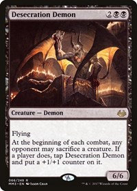 Desecration Demon, Magic: The Gathering, Modern Masters 2017