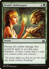Druid's Deliverance, Magic: The Gathering, Modern Masters 2017