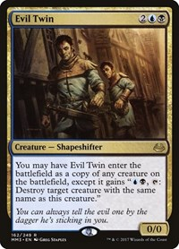 Evil Twin, Magic: The Gathering, Modern Masters 2017