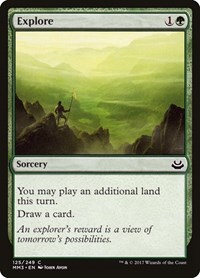 Explore, Magic, Modern Masters 2017