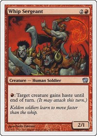 Whip Sergeant, Magic: The Gathering, 9th Edition