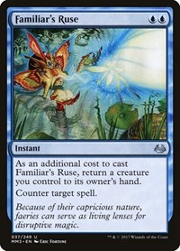 Familiar's Ruse, Magic: The Gathering, Modern Masters 2017