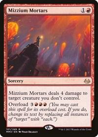 Mizzium Mortars, Magic, Modern Masters 2017