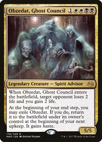 Obzedat, Ghost Council, Magic: The Gathering, Modern Masters 2017