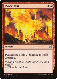 Pyroclasm, Magic: The Gathering, Modern Masters 2017