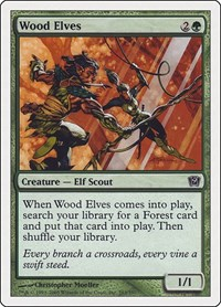 Wood Elves, Magic: The Gathering, 9th Edition