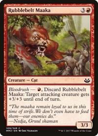 Rubblebelt Maaka, Magic, Modern Masters 2017
