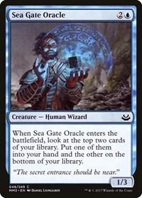 Sea Gate Oracle, Magic: The Gathering, Modern Masters 2017