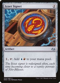 Izzet Signet, Magic: The Gathering, Modern Masters 2017