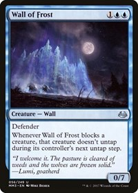 Wall of Frost, Magic, Modern Masters 2017