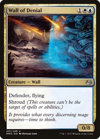 Wall of Denial, Magic: The Gathering, Modern Masters 2017