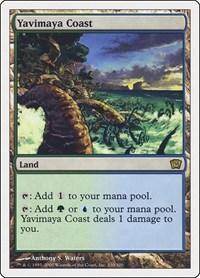 Yavimaya Coast, Magic: The Gathering, 9th Edition
