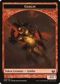 Goblin Token, Magic: The Gathering, Modern Masters 2017