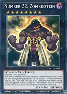 Number 22: Zombiestein, YuGiOh, Raging Tempest: Special Edition