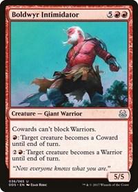 Boldwyr Intimidator, Magic, Duel Decks: Mind vs. Might