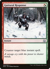 Guttural Response, Magic, Duel Decks: Mind vs. Might