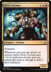 Nivix Cyclops, Magic, Duel Decks: Mind vs. Might