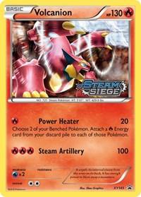 Volcanion (XY Steam Siege Prerelease), Pokemon, XY Promos