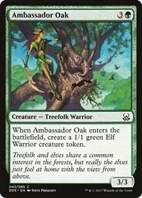 Ambassador Oak, Magic, Duel Decks: Mind vs. Might