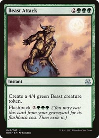 Beast Attack, Magic: The Gathering, Duel Decks: Mind vs. Might