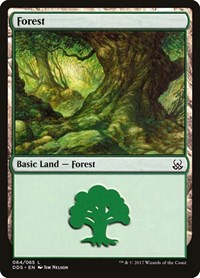 Forest (64), Magic: The Gathering, Duel Decks: Mind vs. Might