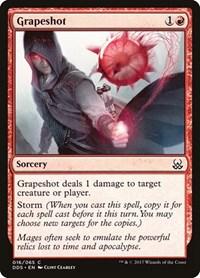 Grapeshot, Magic: The Gathering, Duel Decks: Mind vs. Might