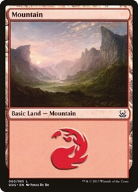 Mountain (60), Magic: The Gathering, Duel Decks: Mind vs. Might