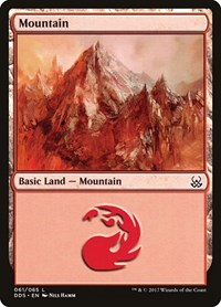 Mountain (61), Magic: The Gathering, Duel Decks: Mind vs. Might