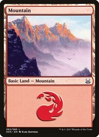 Mountain (62), Magic: The Gathering, Duel Decks: Mind vs. Might
