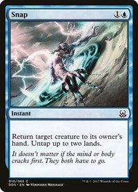 Snap, Magic: The Gathering, Duel Decks: Mind vs. Might