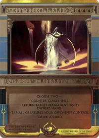 Cryptic Command, Magic: The Gathering, Masterpiece Series: Amonkhet Invocations