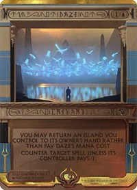 Daze, Magic: The Gathering, Masterpiece Series: Amonkhet Invocations