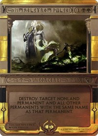 Maelstrom Pulse, Magic: The Gathering, Masterpiece Series: Amonkhet Invocations