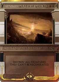 Wrath of God, Magic: The Gathering, Masterpiece Series: Amonkhet Invocations