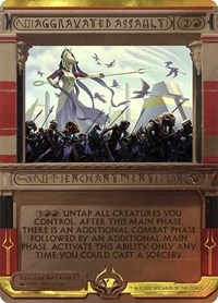 Aggravated Assault, Magic: The Gathering, Masterpiece Series: Amonkhet Invocations