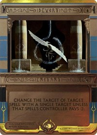 Divert, Magic: The Gathering, Masterpiece Series: Amonkhet Invocations