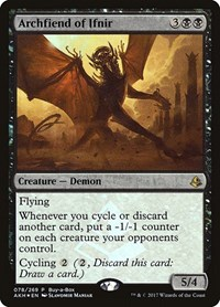 Archfiend of Ifnir, Magic: The Gathering, Buy-A-Box Promos