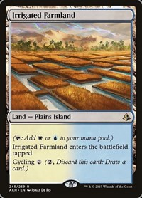 Irrigated Farmland, Magic, Amonkhet