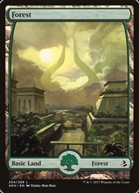 NM! 4 EACH A,B,C X12 --- LAND! MTG REVISED --- FOREST MAGIC THE GATHERING!!